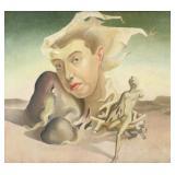 HOBDELL, Leslie Roy. Oil on Canvas. Surrealist