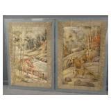 Framed Silks