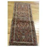 Antique and Finely Hand Woven Sarouk Carpet