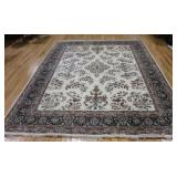 Vintage and Large Finely Hand Woven Carpet .