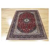 Antique and Finely Hand Woven Persian Carpet .