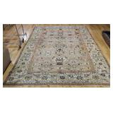 Large Antique And Finely Hand Woven Carpet .