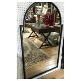 Vintage and Quality Steel Arch Top Mirror .