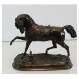 """LENORDEZ, Pierre. Signed Bronze Sculpture """"Angelo"""""""