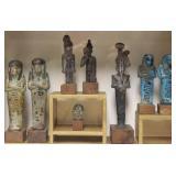Lot Of Egyptian Artifacts To Inc Ushabti.