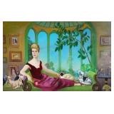 BERNATSCHKE, Rudolf. Oil on Canvas. Portrait