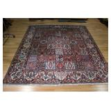 Vintage and Finely Hand Woven Roomsize Carpet .