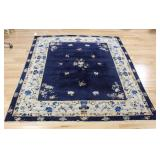 Art Deco and finely Hand Woven Chinese Carpet.