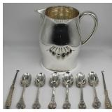 SILVER. Grouping of Silver Items Inc. Tiffany.