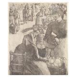 PISSARRO, Camille. Etching and Drypoint.