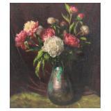 RUNDALTSOV, Mikhail. Oil on Canvas. Floral Still
