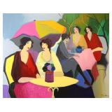 TARKAY, Itzchak. Acrylic on Canvas. Grouping of