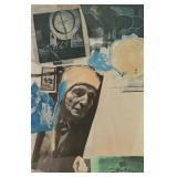 RAUSCHENBERG, Robert. Color Offset Lithograph.