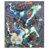 MARX, Carl. Acrylic on Canvas. Abstract