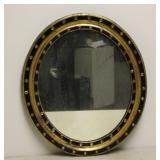 IRISH, Regency , Parcel -  Gilt Ebonised Oval