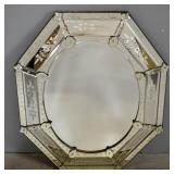 Antique Venetian Style Mirror.