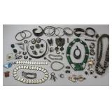 STERLING. Lot of 55+ Pcs. of Silver Jewelry.