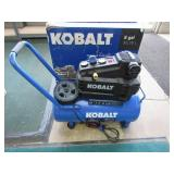 Kobalt 8 Gal Air Compressor Plugged in Turns On