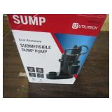 Utilitytech Submersible Sump Pump Not Working