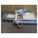 Used Kobalt Wet Tile Saw. Turns On As-Is