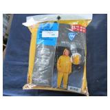 3pc Yellow Rain Suit Size XL