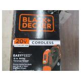 Black & Decker 20v Cordless Weed Trimmer TOOL ONLY