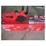 "Craftsman 14"" Electric Chainsaw Turns On"