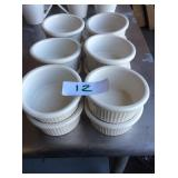 (12) SOUFFLE DISHES