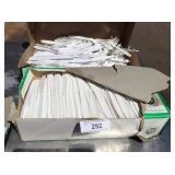 2 BOXES OF PLASTIC SILVERWARE