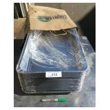 (3) LOTS SOLD AS ONE - TO GO CATERING TRAYS & LIDS