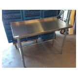 24 X 48 SS WORK TABLE - EXCELLENT CONDITION!
