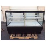 """60"""" DUAL ZONE REFRIGERATED DISPLAY CASE"""