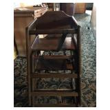CHILDS HIGH CHAIR SET OF 2