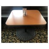 "DINING TABLE. 29.5"" x 35.5"". Very heavy duty"