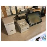 POS TOUCH SCREEN, PRINTER & BATTERY BACK UP