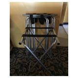 SERVERS TRAY STANDS SET OF 4