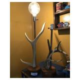 ANTLER LAMP X 2