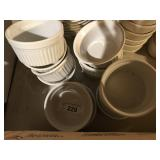 (13) SOUFFLE DISHES