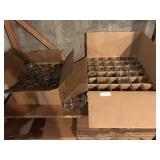 LOT OF GLASSWARE (2) boxes