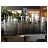 ALL GLASSES ON SHELF