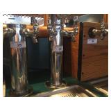 DRAFT BEER TOWER WITH 2 TAPS