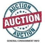 General Consignment Information