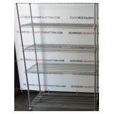 (1) Stainless Steel Kitchen Wire Storage Racks