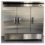 Atosa  B Series 3 Door Reach - In Vertical Freezer