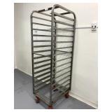 Stainless Steel Rolling Sheet Pan Cart