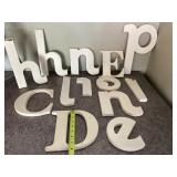 Group Of Wooden Letters