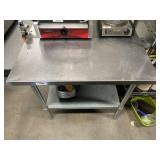 30in X 36in Stainless Work Table W/ #10 Can Opener