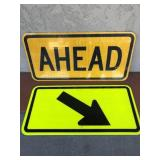 Assortment Of Direction Metal Street Signs