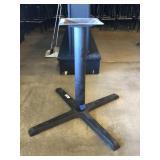 (2) Metal Table Bases
