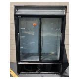 True 2 Sliding Glass Door Refrigerator